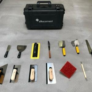 Silkecement værktøjstaske